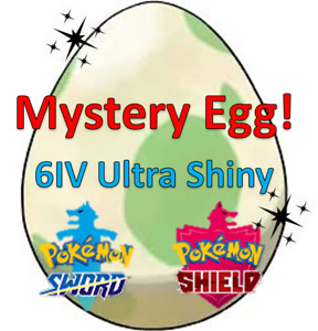 ✨Ultra Shiny✨ 6IV Mystery EGG for Pokemon Sword And Shield Fast Delivery! ⭐