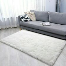 Faux Fur Area Rug 3x5