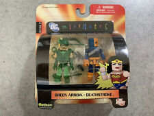 DC Minimates Series 3 Green Arrow Deathstroke New Unopened Limited Edition LEGO