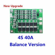 4S 40A 18650 Li-ion Lithium Battery Charging Board Balanced Protection Module
