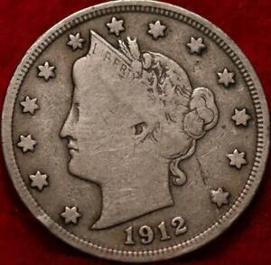 1912-S San Francisco Mint Liberty Nickel