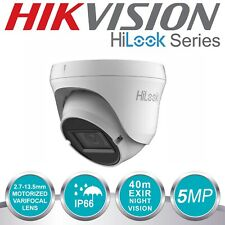 HIKVISION 2K 5MP Turret Dome Camera 4in1 Motorised Vari-focal IP67 Coax Zoom in