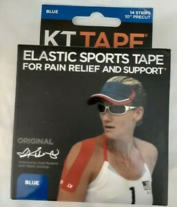 KT TAPE | 14 Strips Blue | Free Shipping