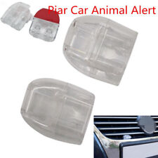 2X Deer Whistles Wildlife Warning Devices Animal Alert Car Safety Accessories