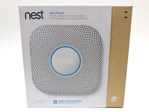 Google S3000BWES Nest Protect Smoke & Carbon Monoxide Alarm BATTERY 2nd Gen.
