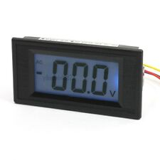 New 1Pcs AC/DC Powered 4Wire LCD Display AC 200mV Digital Panel Meter Voltmeter