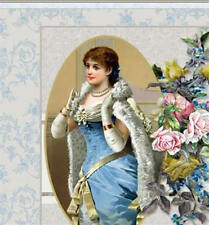 Shabby Vtg Chic Victorian Roses Mobile Friendly Ebay Listing - Auction Template