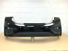 2016-2019 chevy cruze sedan RS rear bumper w/ sensor holes -black meet kettl #12