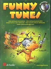 Funny Tunes For Soprano Recorder Songbook w CD Kastelein 1999 De Haske Menuet