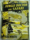 Jungle Doctor's Jungle Doctor On Safari # 2 Paul White 1953 hcdj A64