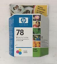 HP 78 Tri-Color Ink Inkjet Print Cartridge Hewlett Packard EXP SEPT 2006
