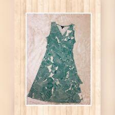 Talbots Midi Dress Garden Print Size PP