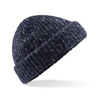 Beechfield Glencoe Beanie Hat Woolly Winter Bonnet Men's Women's Heritage (B429)