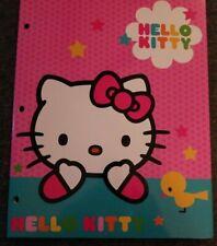 Hello Kitty 1-Portfolio Folder with 2 pockets by Sanrio New 2014