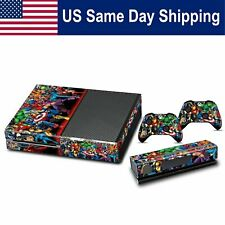 Cover Protector Sticker Vinyl Skin for Xbox One Set Console & Controller Set