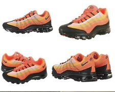 Details about Nike Air Max 95 360 Dynamic Flywire Orange Black Running Shoe 487982 Mens 9