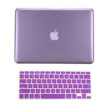 "2 in 1  PURPLE Crystal Hard Case for Macbook PRO 13"" A1278 with Keyboard Cover"