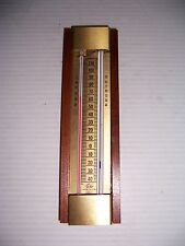 VINTAGE OHIO INDOOR/OUTDOOR THERMOMETER MADE IN U.S.A.