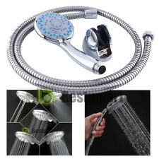 5 Setting Water Saving Multi-Function Bathroom Hand Held Shower Head Chrome NEW