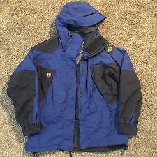 Mountain Hardwear Conduit Blue Black Hooded Snowboard Ski Shell Men Jacket