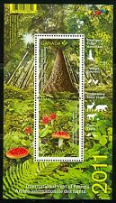 Canada #2461 Souvenir Sheet 2011 International Year of Forests MNH