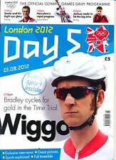 OLYMPIC GAMES DAY 5 FIVE DAILY PROGRAMME LONDON 2012