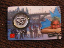 CANADA 2000 25 CENT HEALTH COIN SEALED IN RARE  ROYAL CANADIAN MINT CARD-