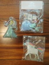 Pottery barn set 4 Princess ice pack Elsa unicorn Ariel Cinderella frozen disney