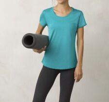 Prana Revere T Shirt XL North Sea Green Tee Top Short Sleeve