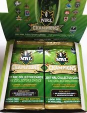 2007 Select NRL Champions Trading Cards Series 18-Sealed Pack Unit