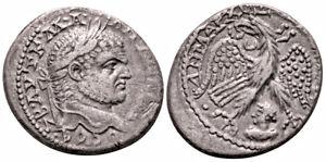 CARACALLA (215-217 AD) BI Tetradrachm. Emesa #IR 7473