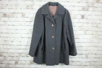 Lampert Grey Cashmere & Wool Coat Size 18 No.W29 20/2