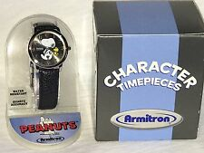 Peanuts Snoopy Armitron Watch in Box Brand New With New Battery