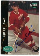 Gordie Howe Detroit Red Wings Signed Autographed 1991-92 Parkhurst Card #PHC1