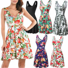 Polyester Floral Sundresses for Women
