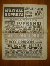 NME #947 1965 MAR 5 BEATLES FILM ORBISON STEVIE WONDER