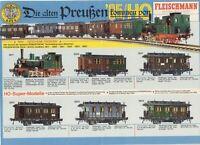 catalogo FLEISCHMANN 1985 Spur HO N die Alten Preussen          D      aa
