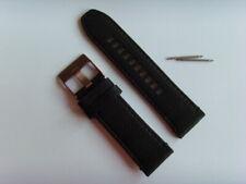 DIESEL Original Ersatzband Lederarmband DZ4459 Uhrband schwarz 26 mm watch strap