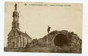 D16467 Néris-les-Bains Chapelle de St-Joseph et la Grotte Postcard France