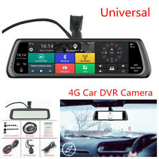 "10""4G Car DVR Dual Lens Cameras Android Mirror GPS Bluetooth WIFI Video Recorder"