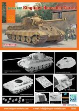 Dragon 1/72 KING TIGER HENSCHEL TORRETTA # 7558