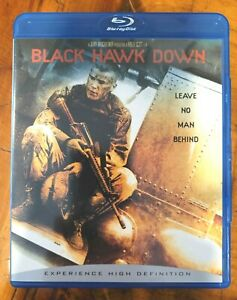 Black Hawk Down, True Story of Tragedy in Somalia 1993, (Blu-ray, 2006) LNCd.