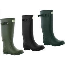 Hunter Field Huntress Womens Wellies Wide Calf Wellington Boots Size UK 4-8