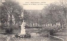 BOULOGNE-SUR-SEINE 3927 jardins de la marie la pièce d'eau écrite 1917