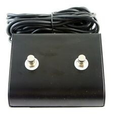 """Marshall style 2 Two Button Replacement Footswitch with TRS 1/4"""" plug"""