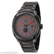 Esq Men's Excel 07301450 Black Stainless Steel Swiss Quartz Watch RETAIL $495