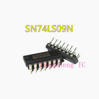 10PCS SN74LS09N DIP-14 74LS09 QUAD 2-INPUT AND GATE