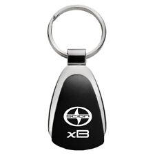 Scion xB Black Teardrop Keychain