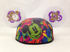 Mickey Mouse Ears Hat 2013 Disney Parks Glow With The Show Lights Light Up Color