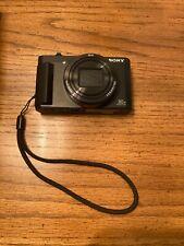 Sony Cyber-shot DSC-HX80 Digital Camera Black W/Original Battery Extra SD Card